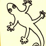 The Lizard represents the beast in the Bible