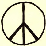 Cross of Nero - Or Peace sign